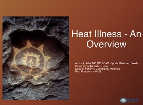 Update: Heat Illness - Tony Islas