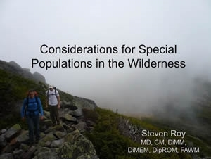 Cancer Patients and Survivors in the Wilderness - Steven Roy