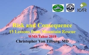 Risks and Consequences: Lessons from Mtn Rescue - Christopher Van Tilburg