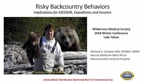 Dangerous Backcountry Behaviors - Michael Callahan