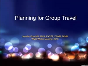 Planning for Group Travel - Jenn Dow