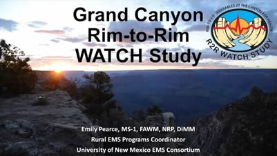 Rim to Rim Grand Canyon Study - Emily Pearce