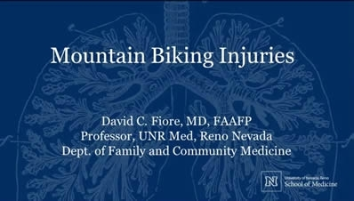 Mountain Bike Injuries - David Fiore