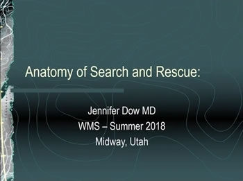 Anatomy of SAR - Jenn Dow