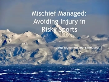 Avoiding Injury in Risky Sports, Clothing Selection for Wilderness Survival, Everest ER - Lieberman, Sagalyn, Nemethy