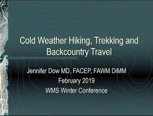 Cold Weather Hiking and Trekking - Jenn Dow
