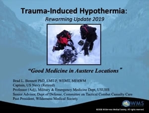 Hypothermia Secondary to Trauma - Brad Bennett