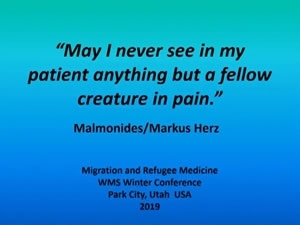 Refugee and Migration Medicine - Nick Williams