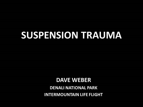 Suspension Trauma - David Weber