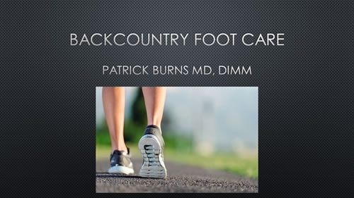 Footcare - Patrick Burns