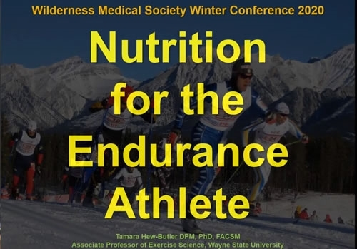 Nutrition for the Endurance Athlete - Tamara Hew-Butler