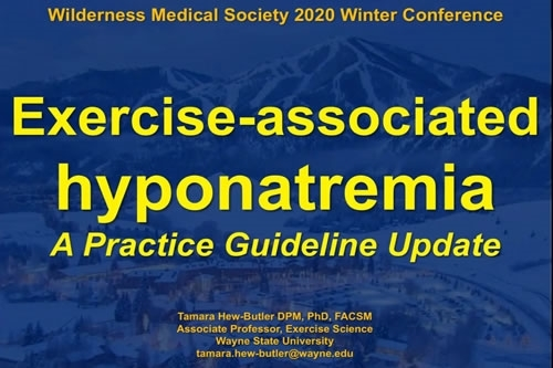 Exercise-Associated Hyponatremia - Tamara Hew-Butler