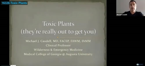Toxic Plants: They Really Are Out to Get You! - Michael Caudell