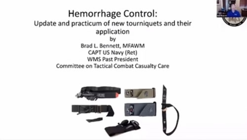 Hemorrhage Control: Update and Practicum of New Tourniquet Applications - Brad Bennett