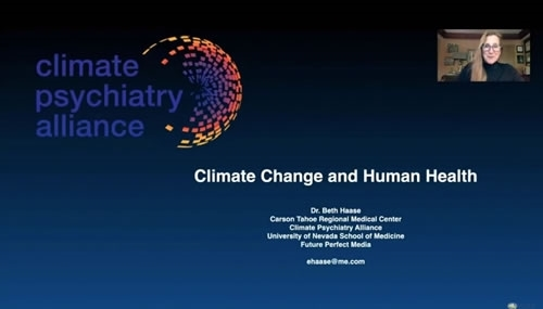 Climate Change and Human Health - Elizabeth Haase