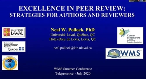 Excellence Through Peer Review: Strategies for Authors and Reviewers - Neal Pollock