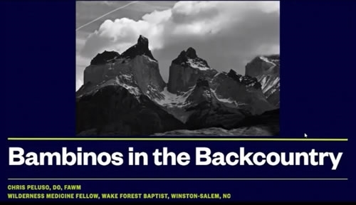 Bambinos in the Backcountry - Christopher Peluso
