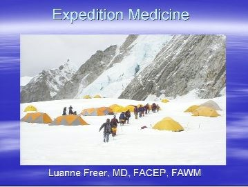 Overview of Expedition Medicine - Freer