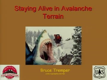 Avalanche Safety - Tremper