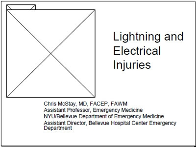 Lightning and Electricity, McStay