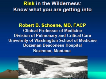 Mishap in the Wilderness: Risk and Who's Fault Is It?, Schoene