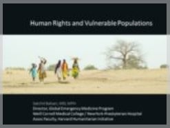 Human Rights Protection and Vulnerable Populations - Balsari