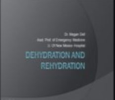 Dehydration and Fluid Hydration, Dell
