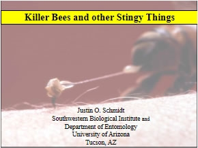 Killer Bees and Other Stingy Things, Smith