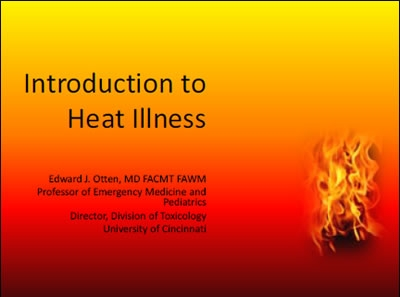 Introduction to Heat Related Illness, Otten