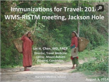 Immunizations for Travel - Lin Chen