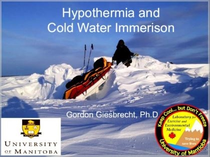Hypothermia/Cold Water Immersion - Gordon Giesbrecht