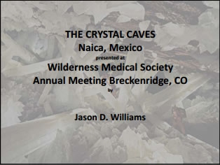 National Geographic and the Crystal Caves - Jason Williams