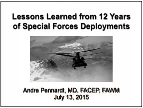 Lessons Learned from 12 Years of Special Forces Deployments - Andre Pennardt