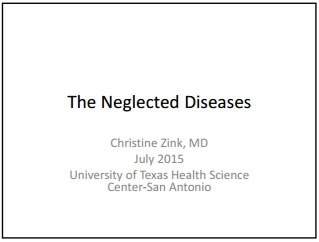 The Neglected Disease - Christine Zink