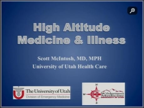 High Altitude Illness - Scott McIntosh