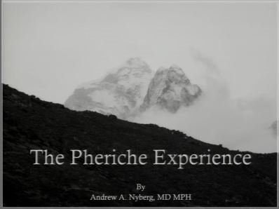The Pheriche Experience - Andrew Nyberg