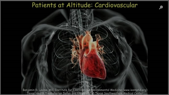 Patients at Altitude: Cardiovascular - Ben Levine