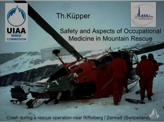 Safety/Occupational Aspects in Mountain Rescue - Thomas Kupper