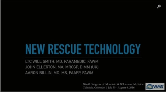 New Rescue Technology - Will Smith, John Ellerton, Aaron Billin