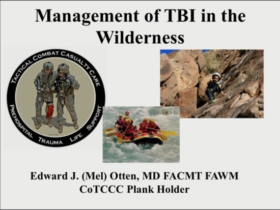 Prehospital Traumatic Brain Injury - Mel Otten